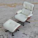 LOUNGE CHAIR & OTTOMAN MINIATURE