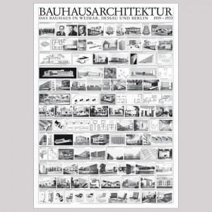 PÒSTER BAUHAUSARKITEKTUR 1919-1933