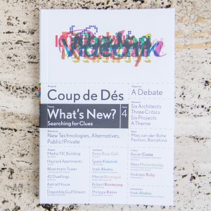COUP DE DÉS 4, What's New?...