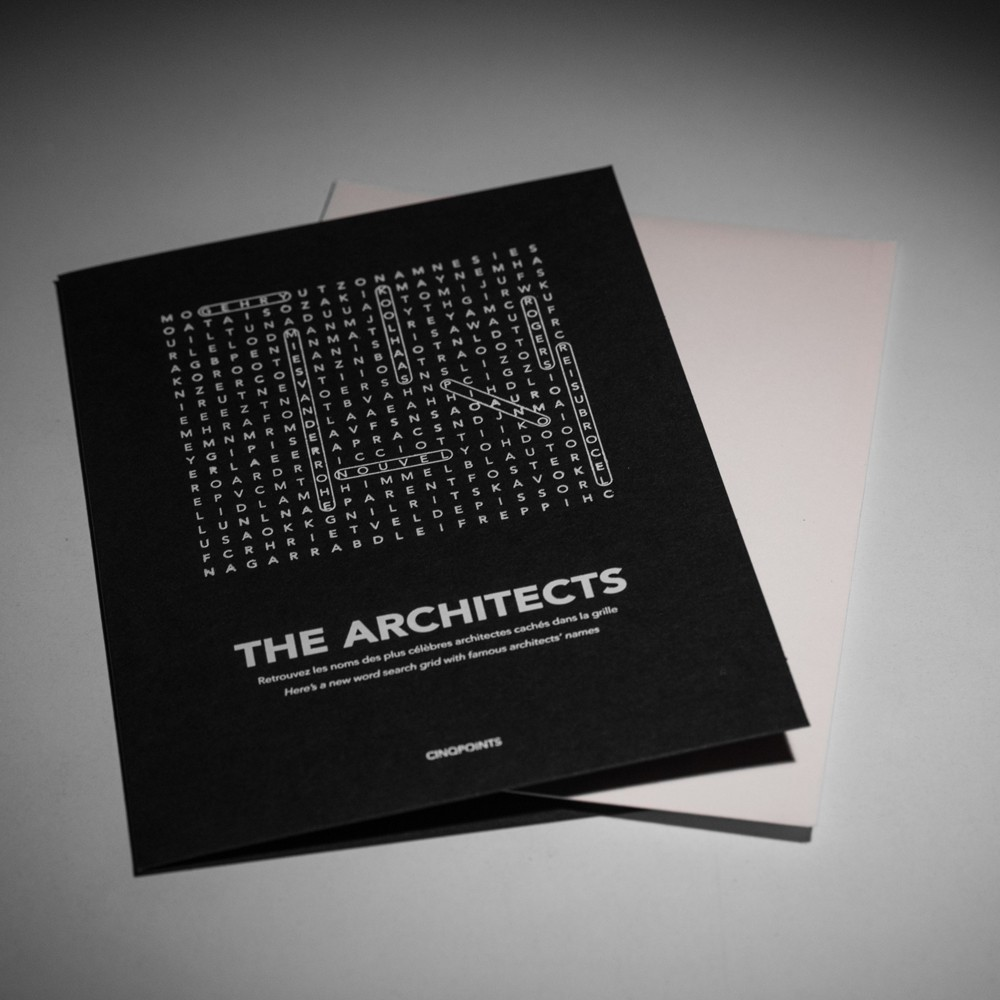FIND ME I AM AN ARCHITECT CARD