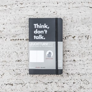LIBRETA THINK, DON'T TALK