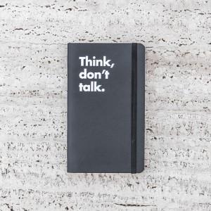 LLIBRETA THINK, DON'T TALK