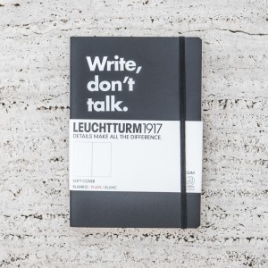LIBRETA LEUCHTTURM 1917 WRITE, DON'T TALK