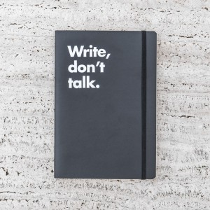 LLIBRETA LEUCHTTURM 1917 WRITE, DON'T TALK
