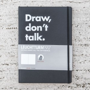 LIBRETA LEUCHTTURM 1917 DRAW, DON'T TALK